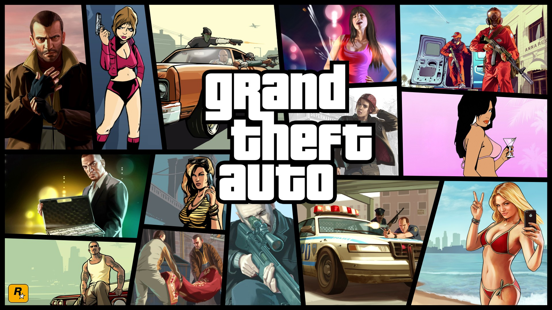 Grand Theft Auto High Definition Wallpapers 1920x1080