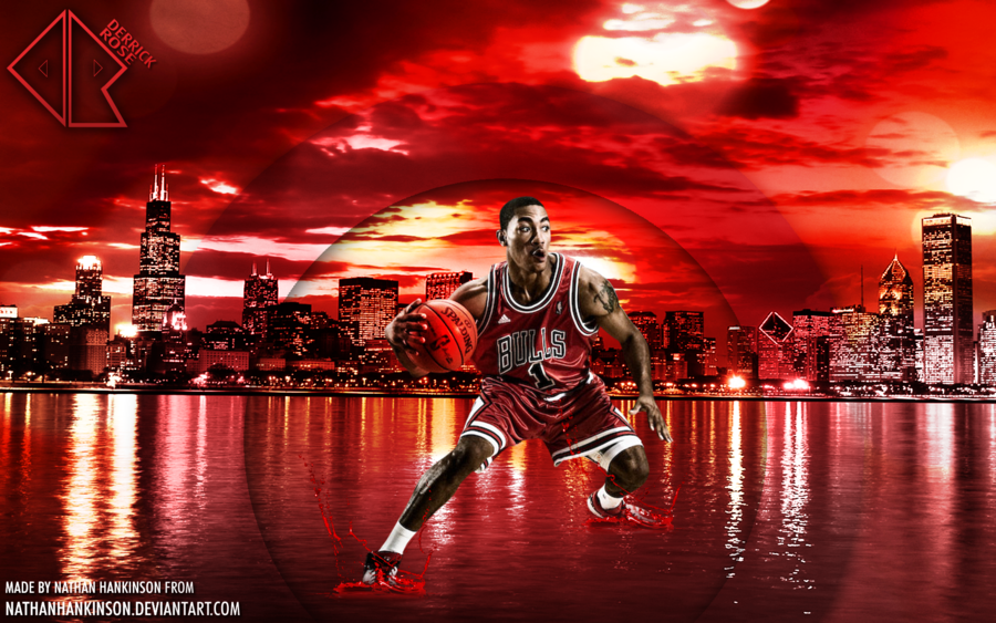 Derrick Rose Wallpaper by NathanHankinson 900x563