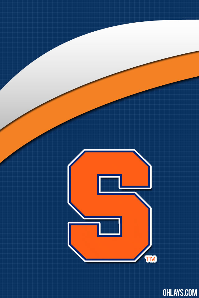 Syracuse Orange iPhone Wallpaper 5429 ohLays 640x960