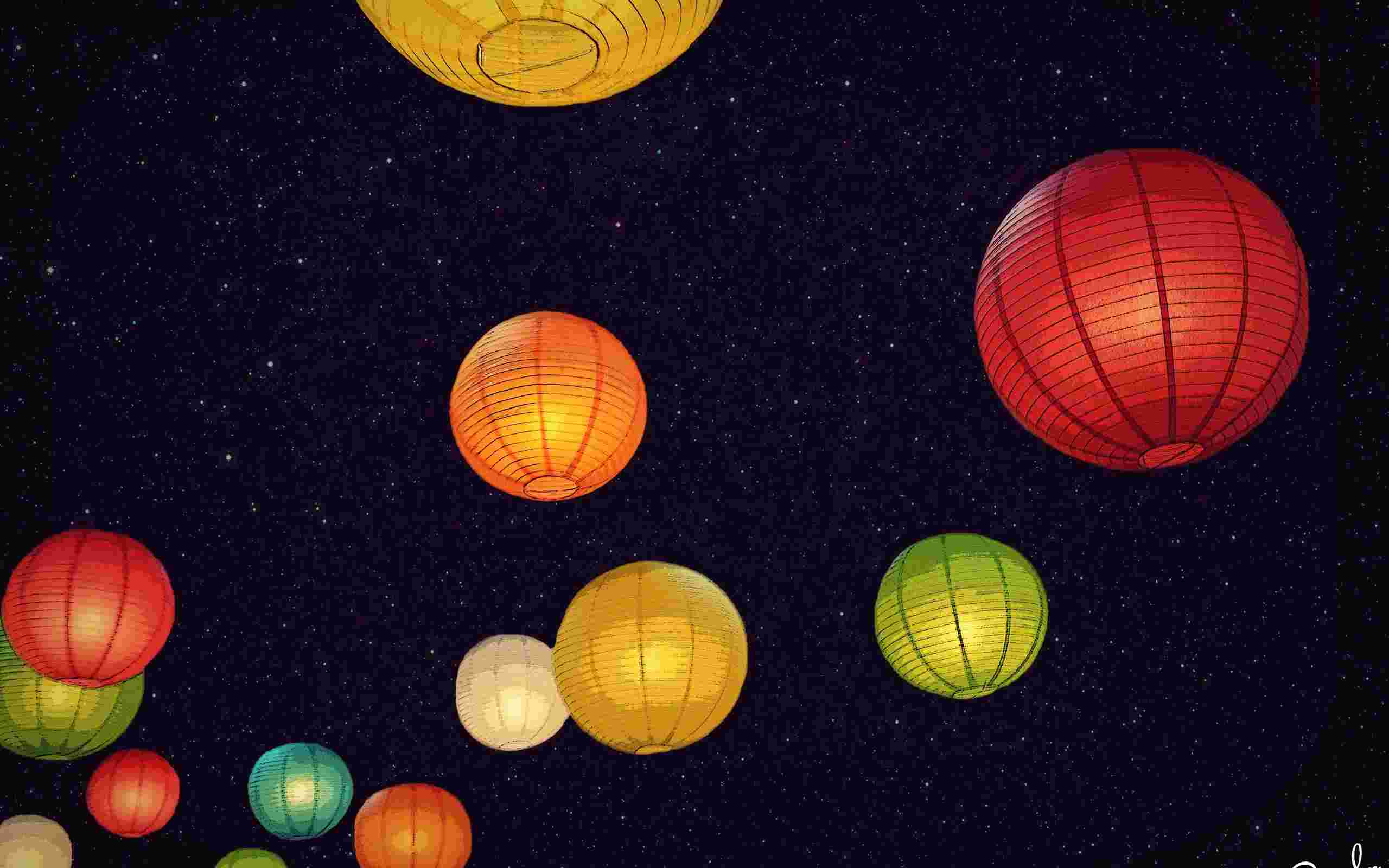 Chinese lanterns wallpaper   Unsorted   Other   Wallpaper Collection 2560x1600