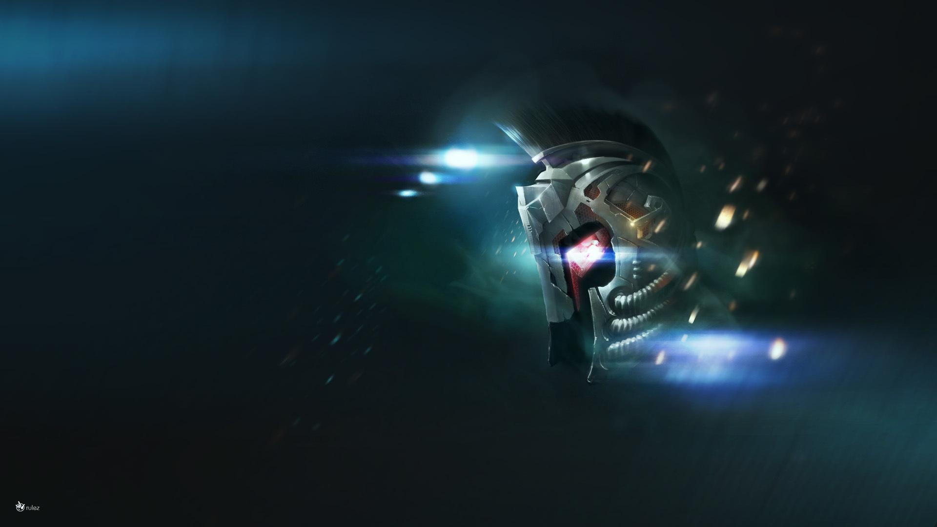 Fantasy Cyborg Trooper 30 Views Hd Wallpaper Picture 1680x1050