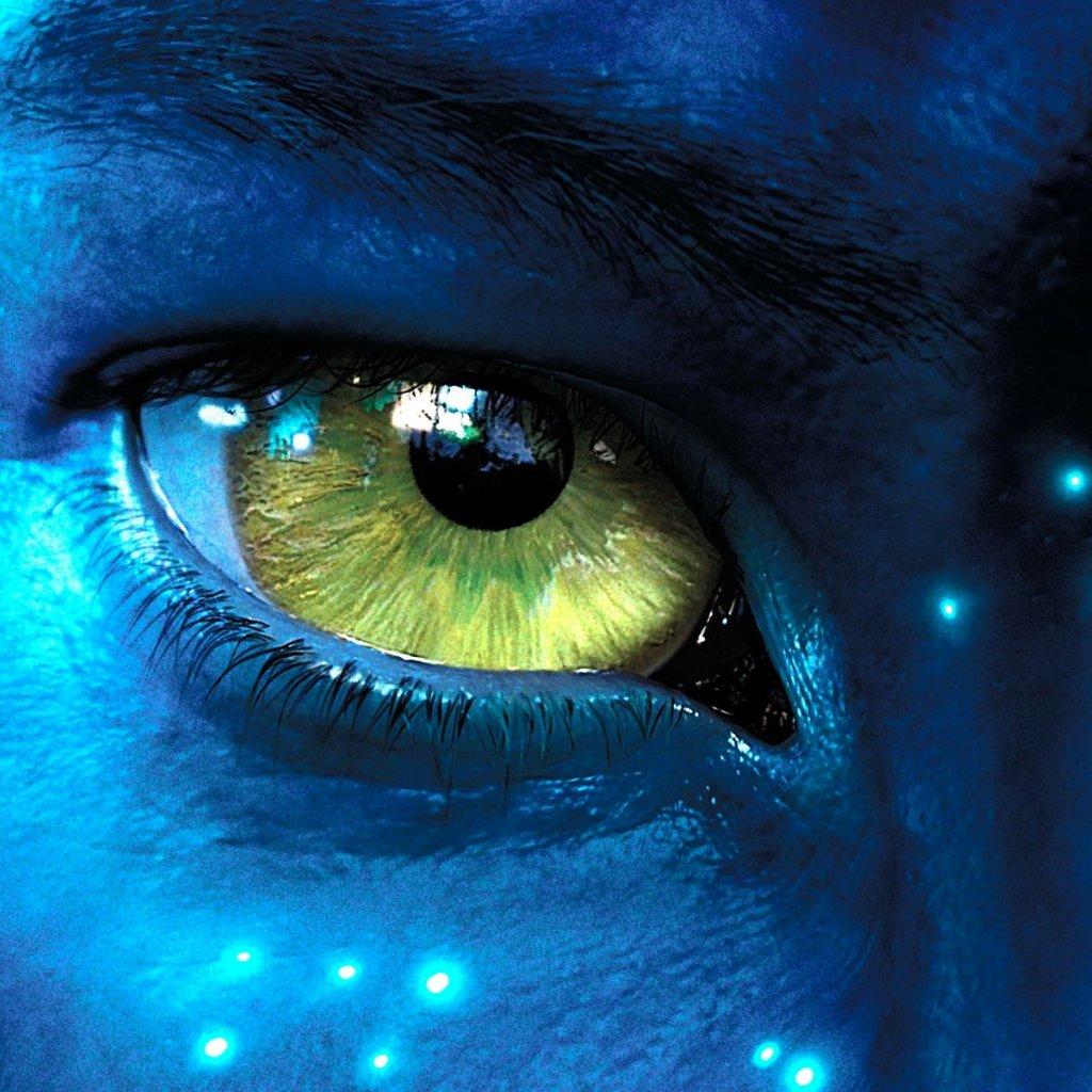 James Cameron S Avatar Logo: Beautiful IPad Wallpaper