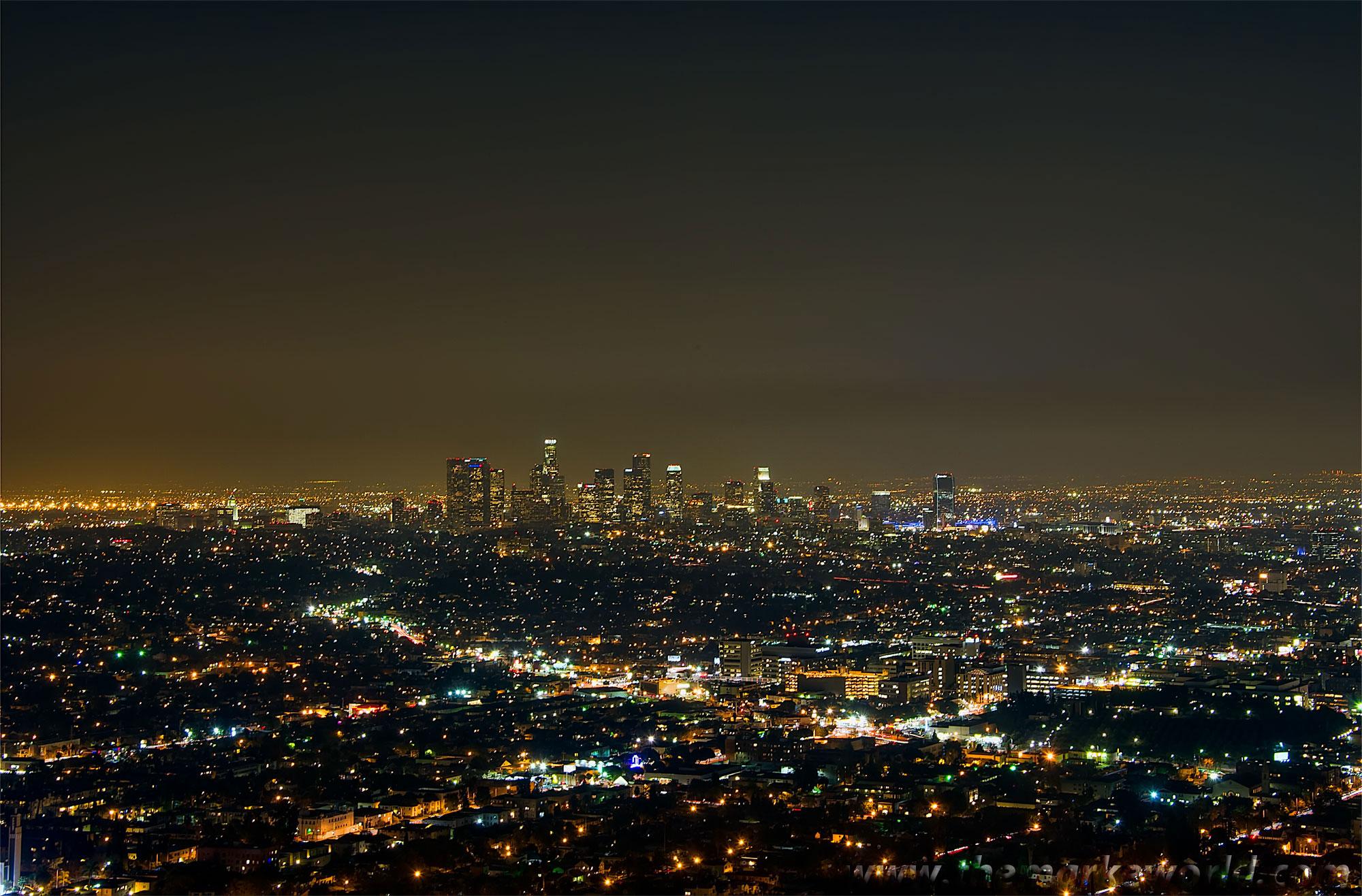 City lights background wallpapersafari - Night light city wallpaper ...