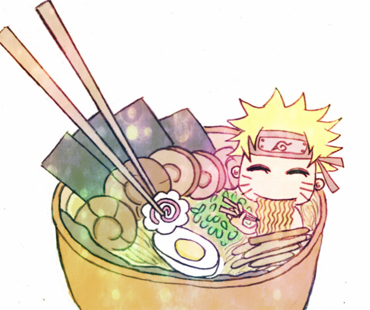 Free Download Naruto Ramen By Rainikloud 757x634 For Your