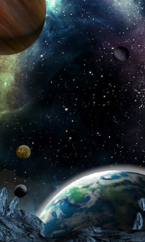 48 Space Wallpaper For Android On Wallpapersafari