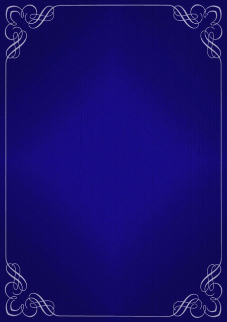 Dark Blue Border Backgrounds and card fronts 450x637