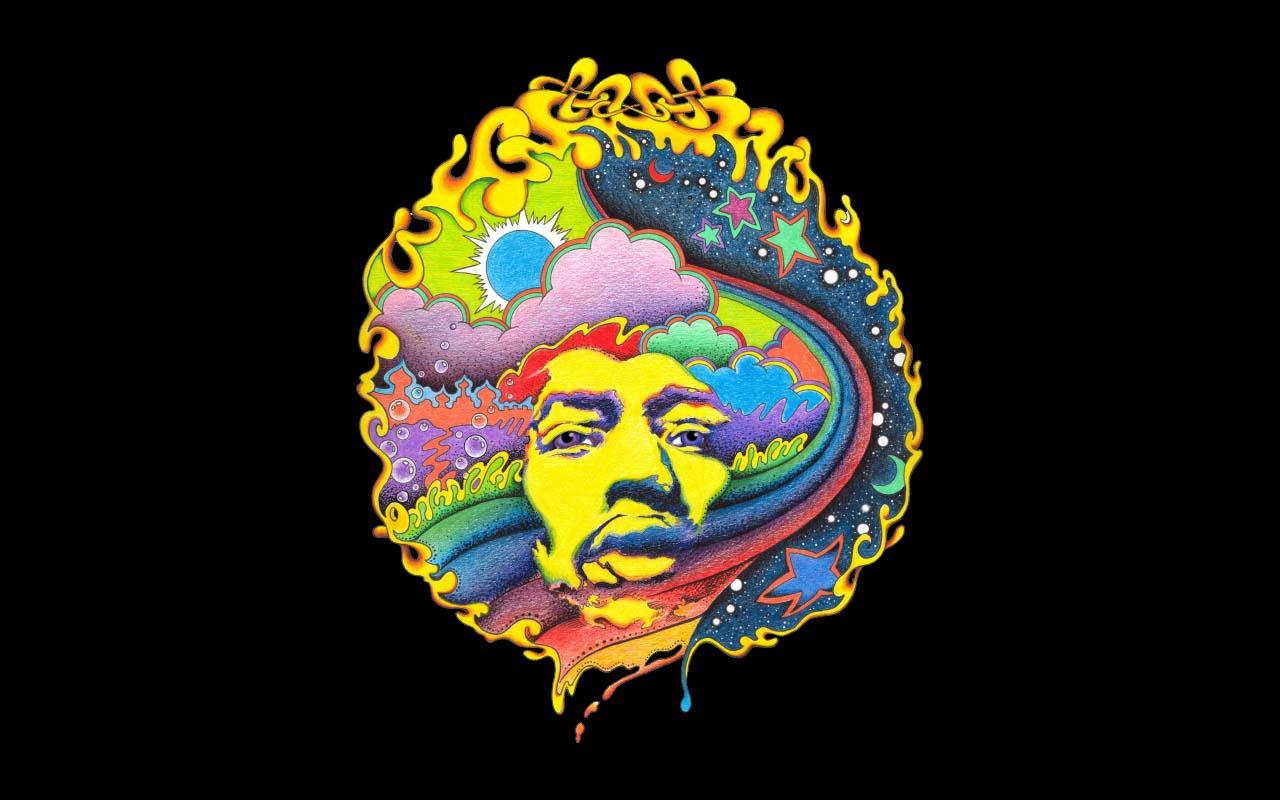 [46+] Jimi Hendrix HD Wallpaper on WallpaperSafari