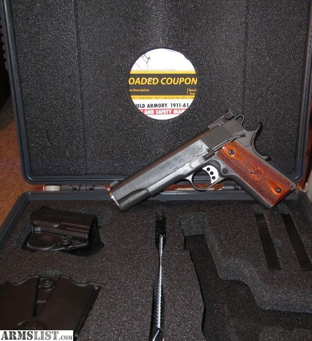 ARMSLIST   For Sale SPRINGFIELD ARMORY 1911A1 RANGE OFFICER 640x699