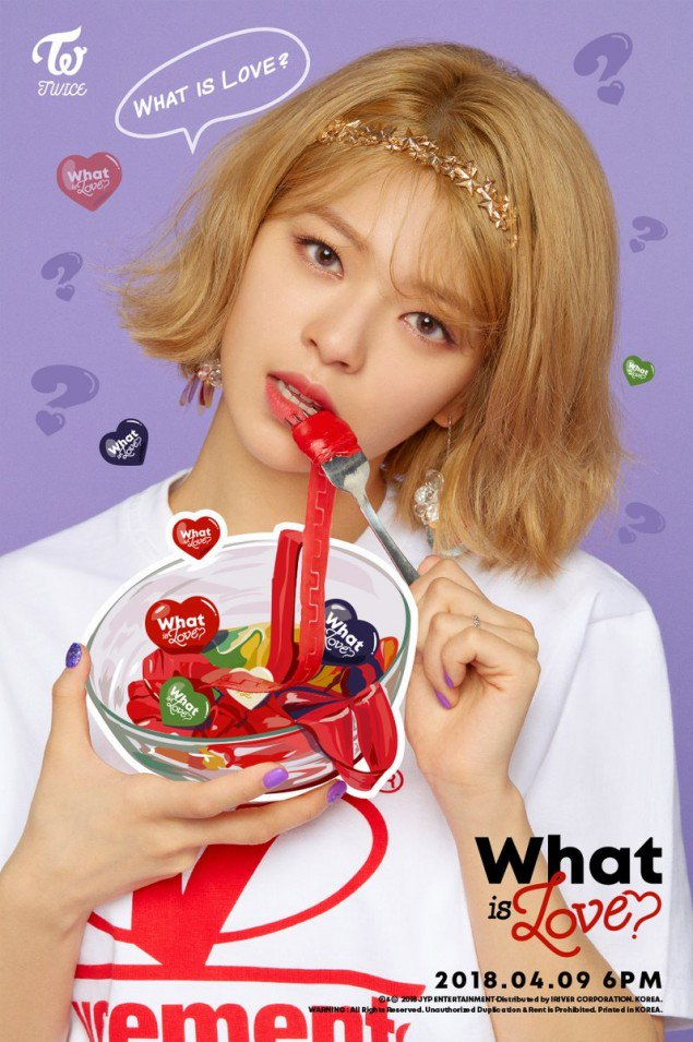 Twice JYP Ent images Jungyeons teaser image for What is Love 635x955