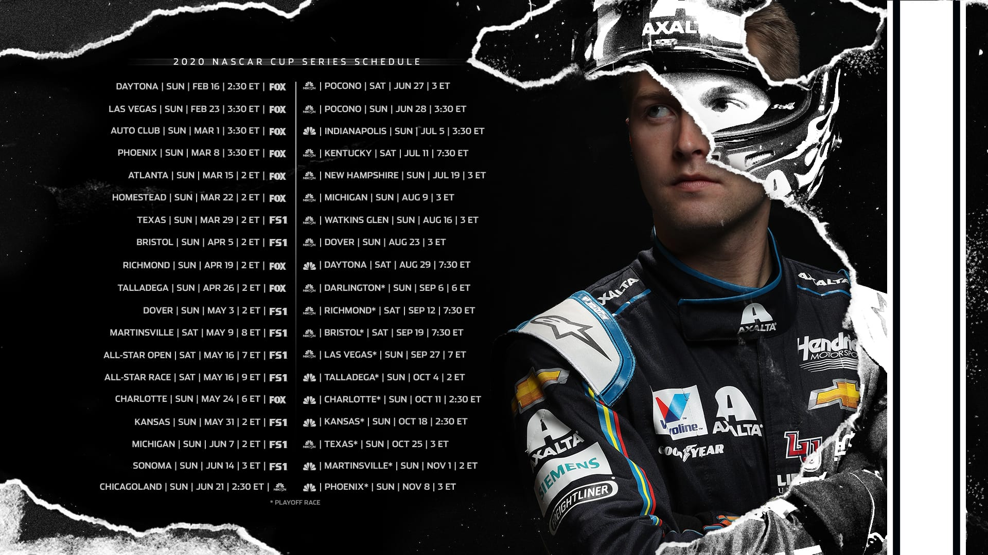 2020 NASCAR Wallpapers Official Site Of NASCAR 1920x1080
