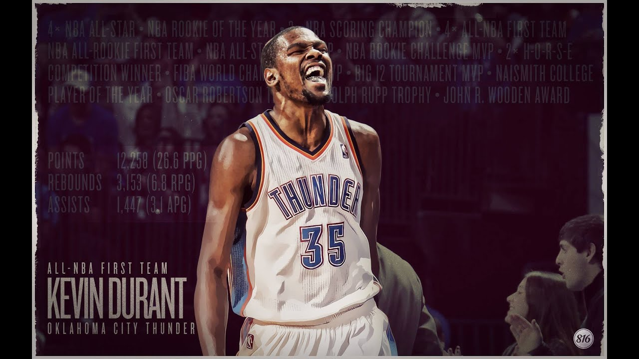 Kevin Durant Career Mix 2016 1920x1200