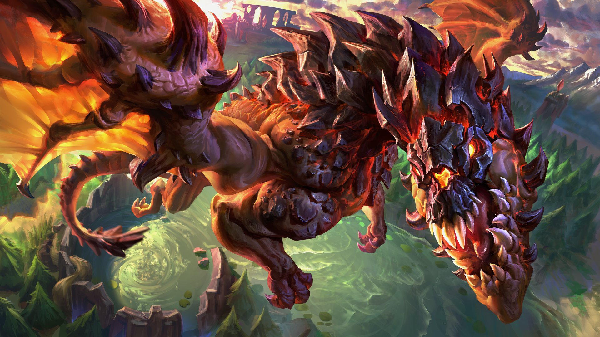 League Of Legends 4K Wallpaper