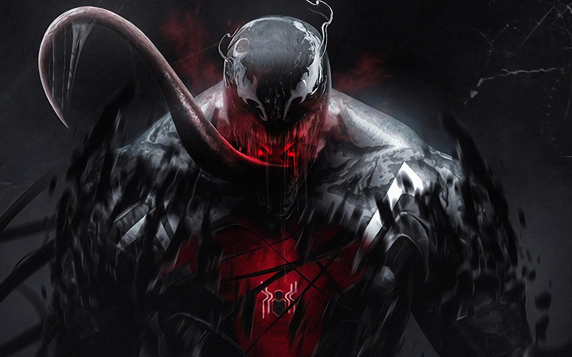Wallpaper Of Art Marvel Comics Venom Background   Venom Vs 1920x1200
