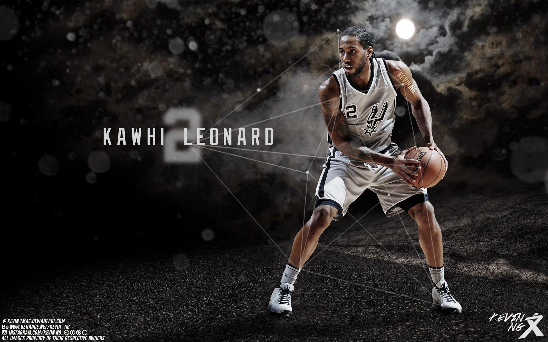 Kawhi Leonard San Antonio Spurs 2016 Wallpaper Basketball 1920x1200