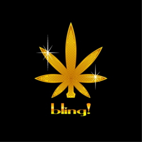 marijuana wallpapers  wallpapersnet Gold Weed 500x500