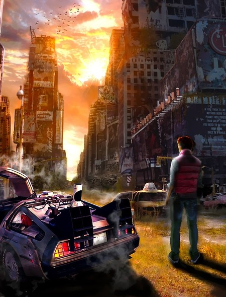 Back to the Future Wallpaper for iPhone 3G 450x590