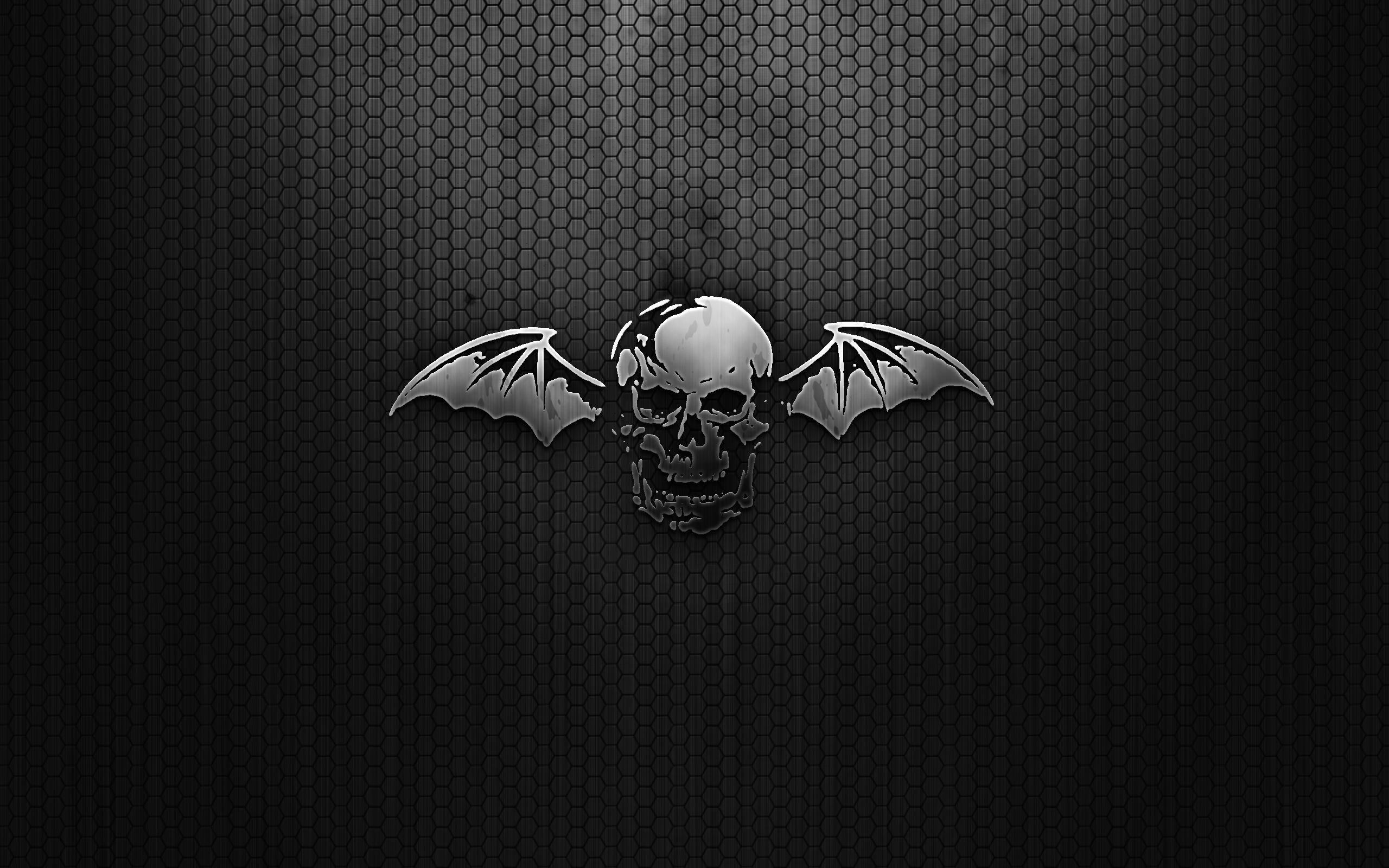 Avenged Sevenfold Logo wallpaper 82195 2560x1600