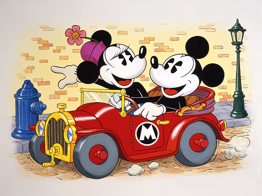 Mickey Mouse And Minnie Mouse Wallpaper 885 Hd Wallpapers in Cartoons 1024x768