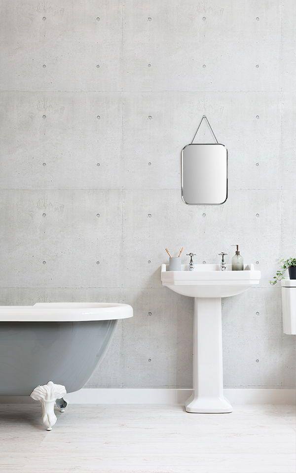 Concrete Block Wallpaper Mural MuralsWallpaper jabon soap 13 600x960