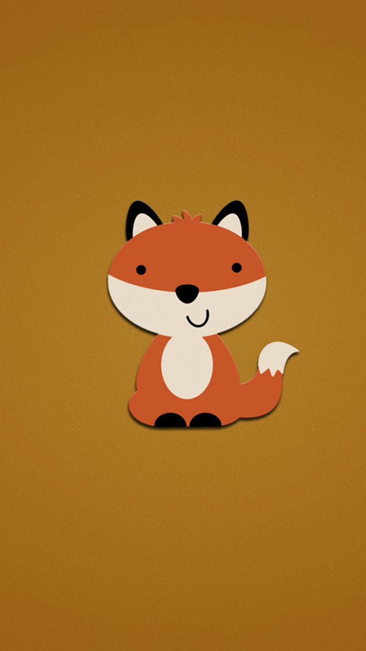 Free Download Cute Fox Iphone 6 Wallpapers Hd Wallpapers For