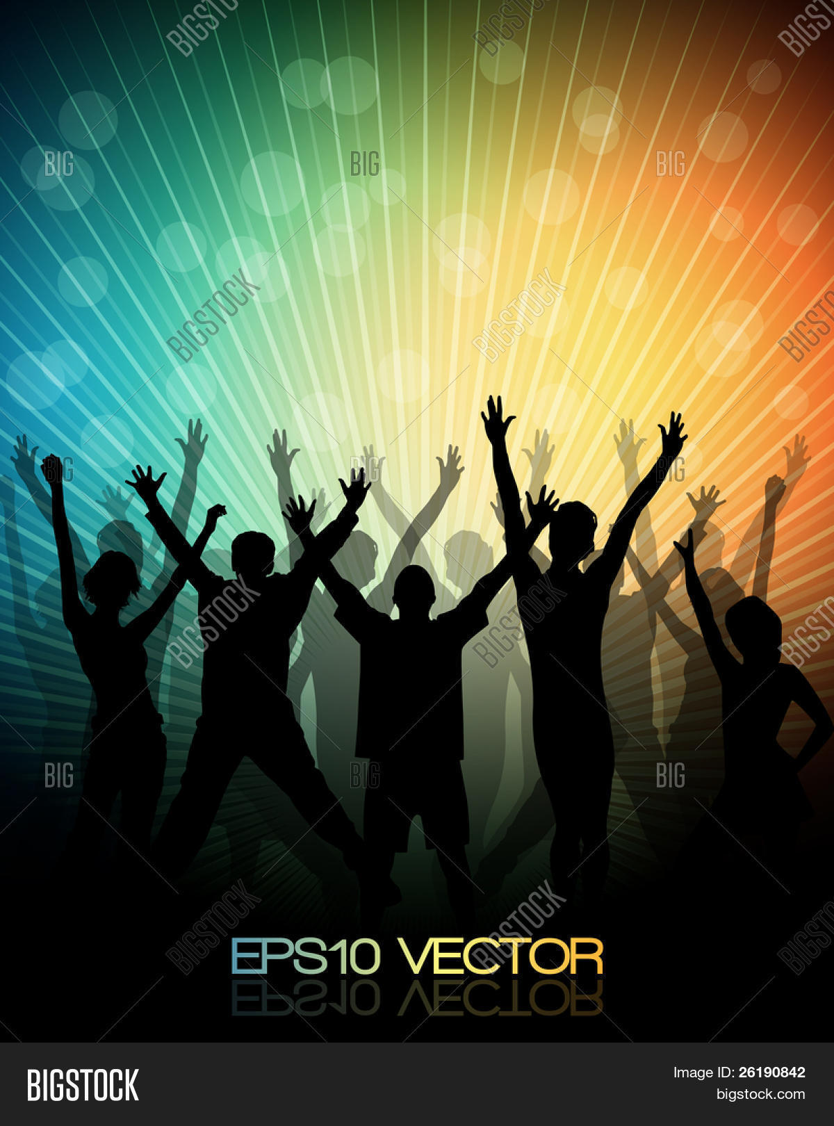 EPS10 Party People Vector Vector Photo Bigstock 1200x1620