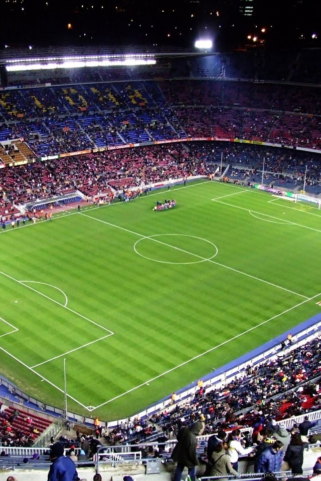 Download Camp Nou Wallpaper For iPhone 4 640x960