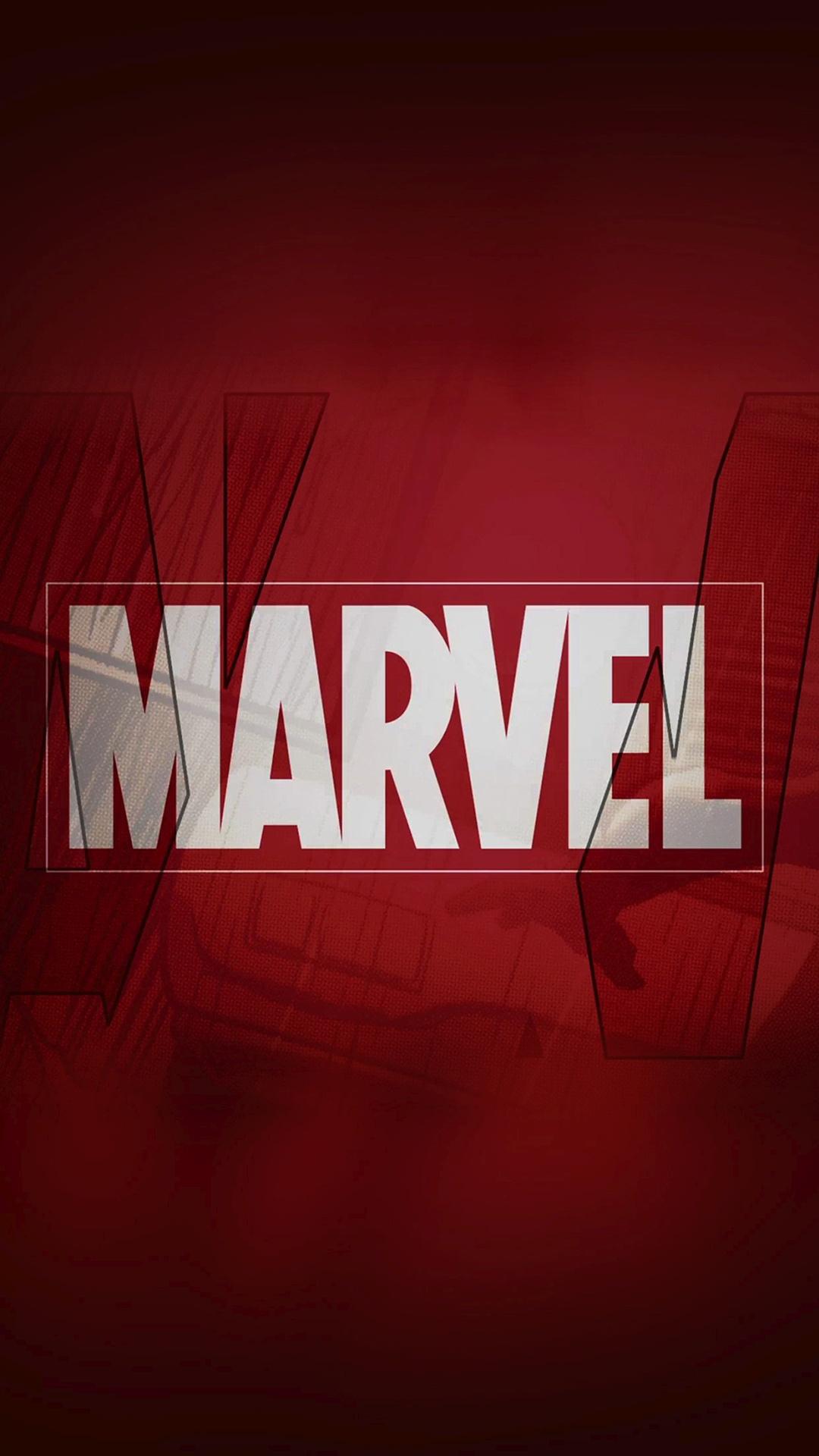Marvel Comics Logo iPhone 6 HD Wallpaper iPod Wallpaper HD 1080x1920