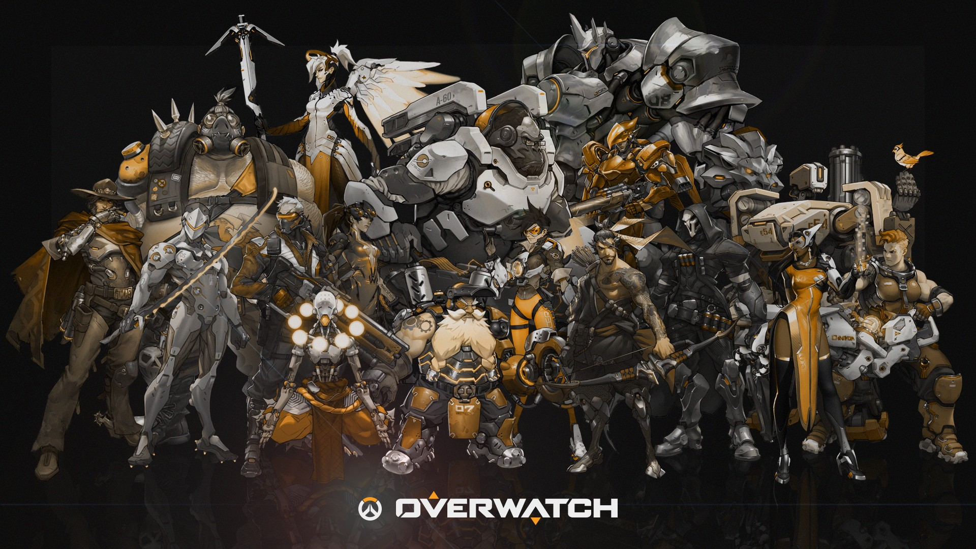 Overwatch HD Wallpaper - WallpaperSafari