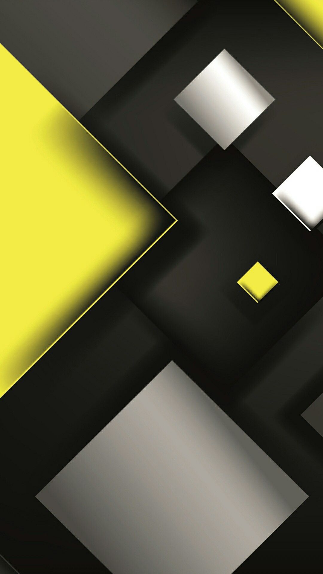 Yellow and Black Abstract Wallpaper Abstract wallpaper Yellow 1080x1920