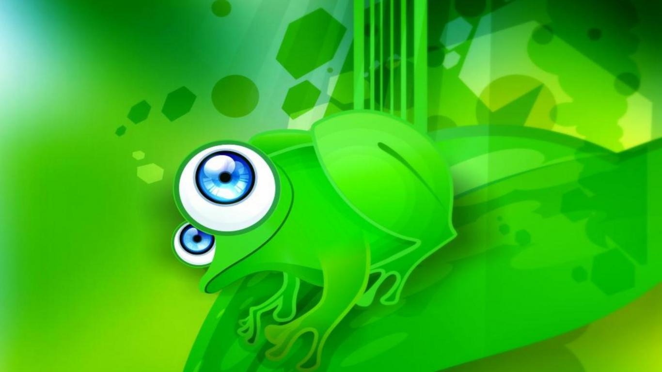 Frog Cartoon Pictures JCartoon Images Photos Wallpaper 1366x768