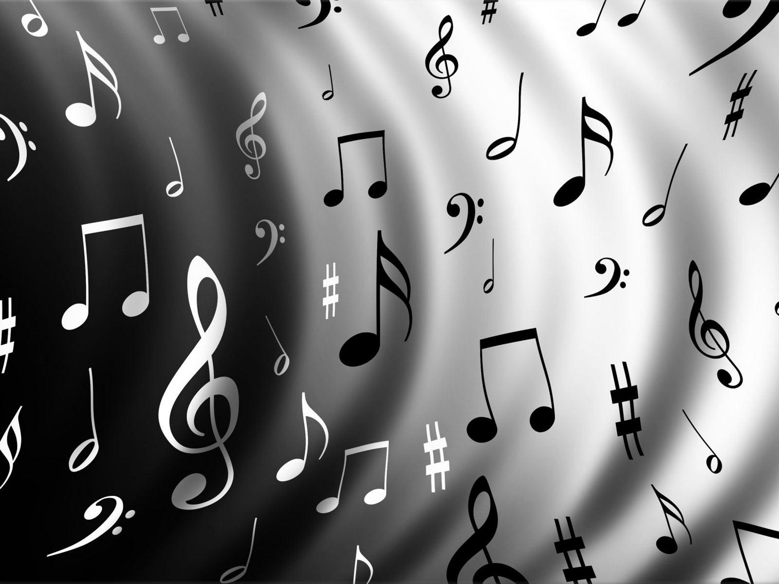 music notes wallpaper   Music Wallpaper 24113988 1600x1200
