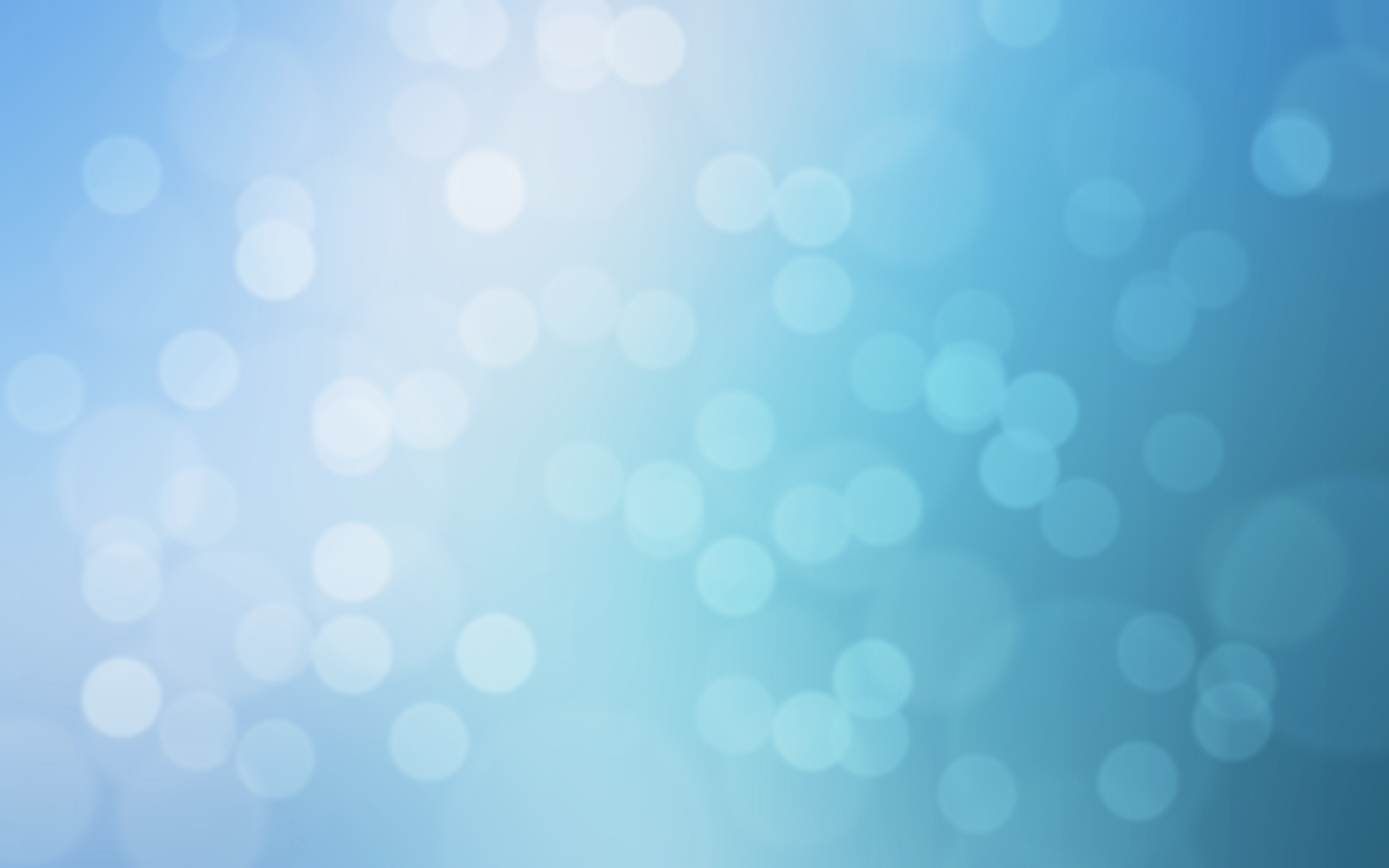 Wallpaper Abstract Abstraction Texture Texture Background Bokeh Blue 2560x1600