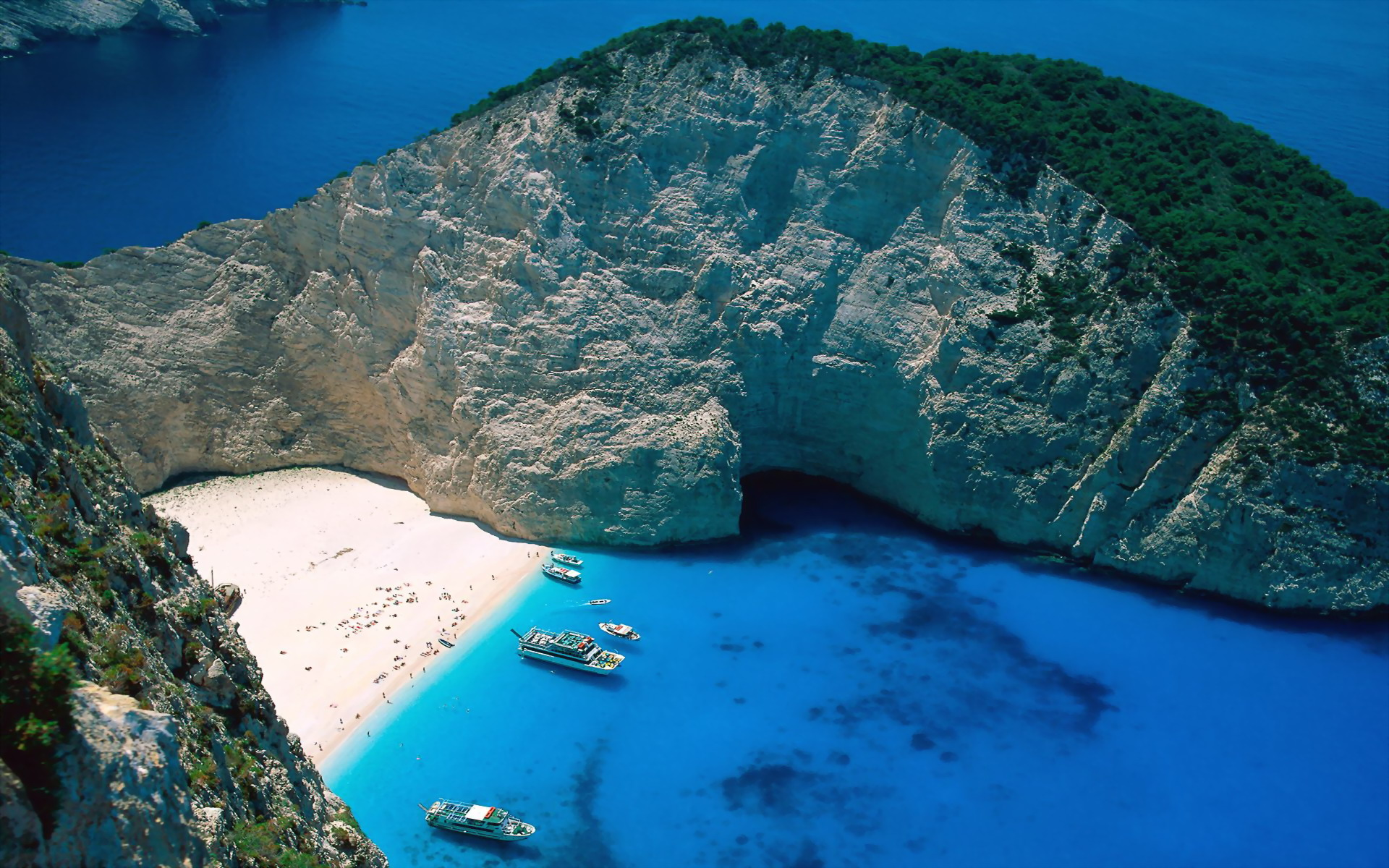 ... Islands Greece - Around The World Photography Desktop Wallpapers