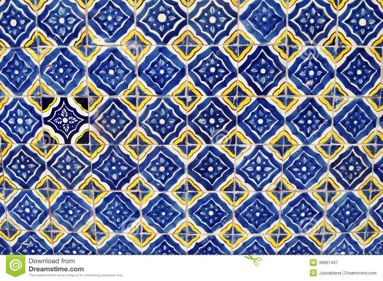 mexican ceramic mosaic wall tile background texture wallpaper 1300x953