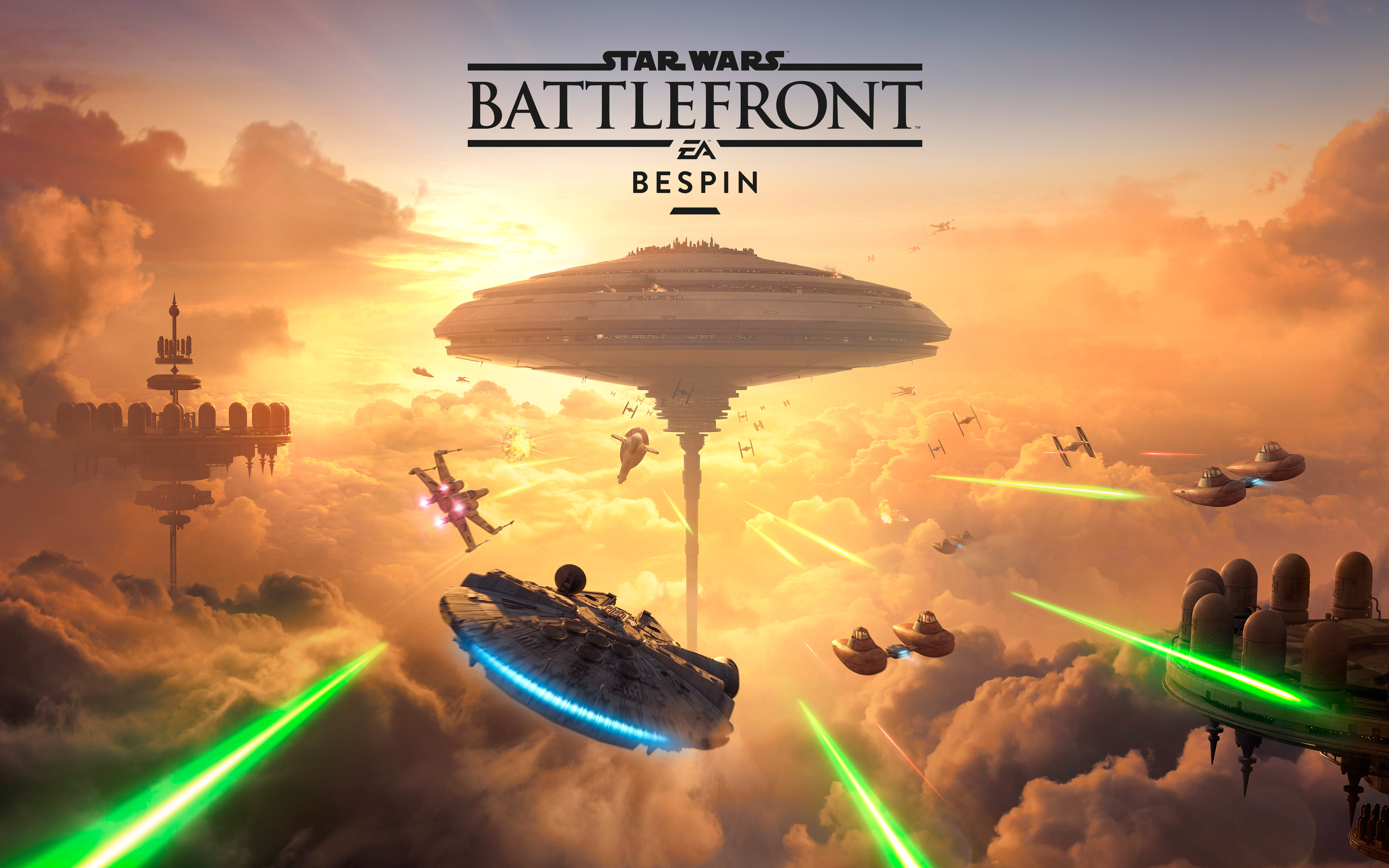 Star Wars Battlefront Bespin DLC 5K 4K wallpaper 3840x2400