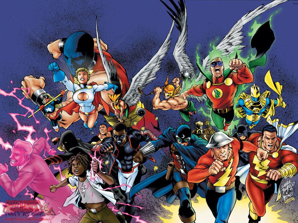 JSA   DC Comics Wallpaper 4007307 1024x768
