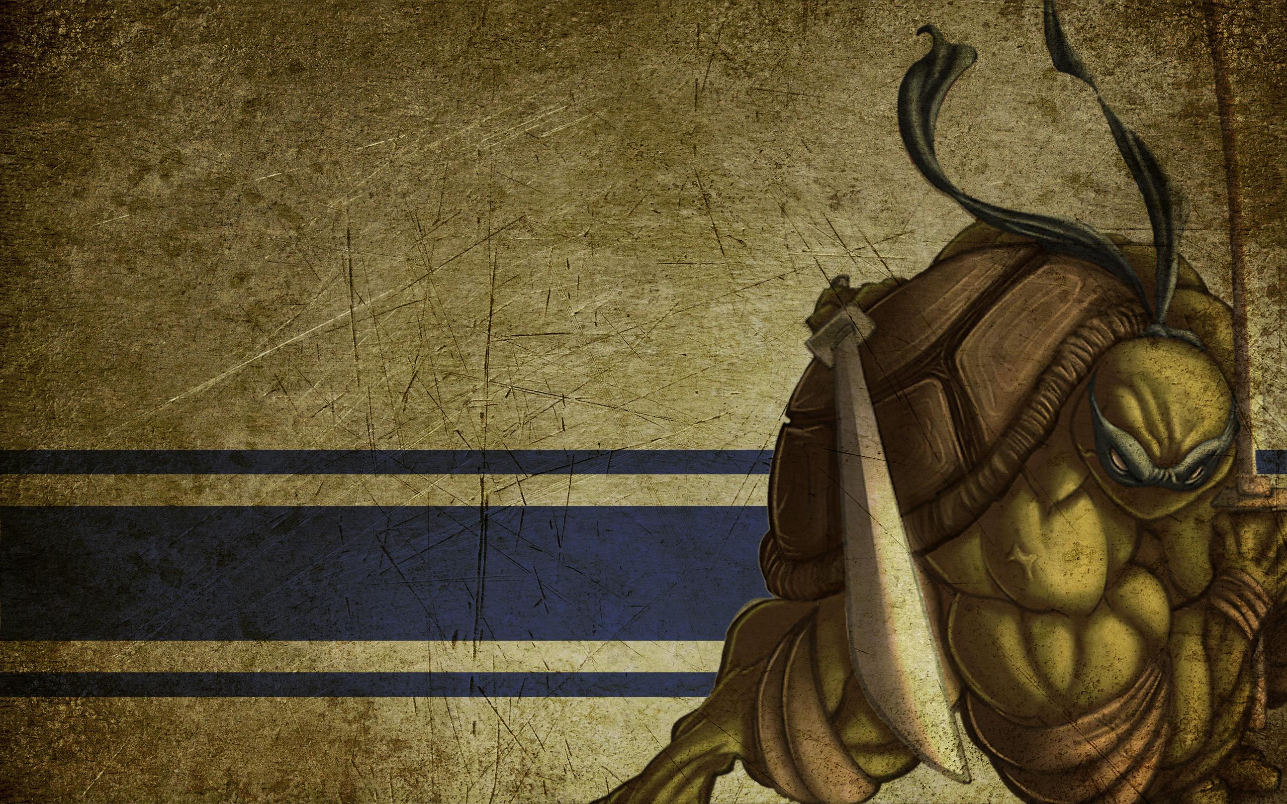 TMNT   Leonardo Wallpaper 2560 x 1600 2560x1600