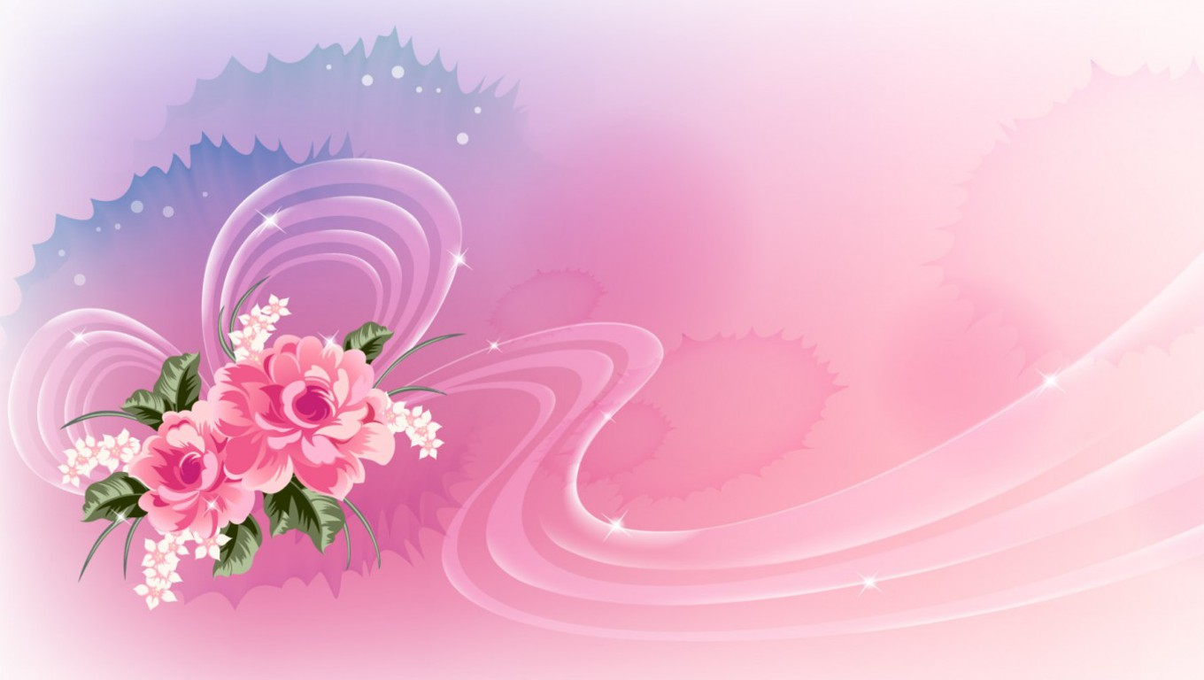Pink flower wallpaper wallpapersafari flowers pink wallpaper background wallpapers dhlflorist Choice Image