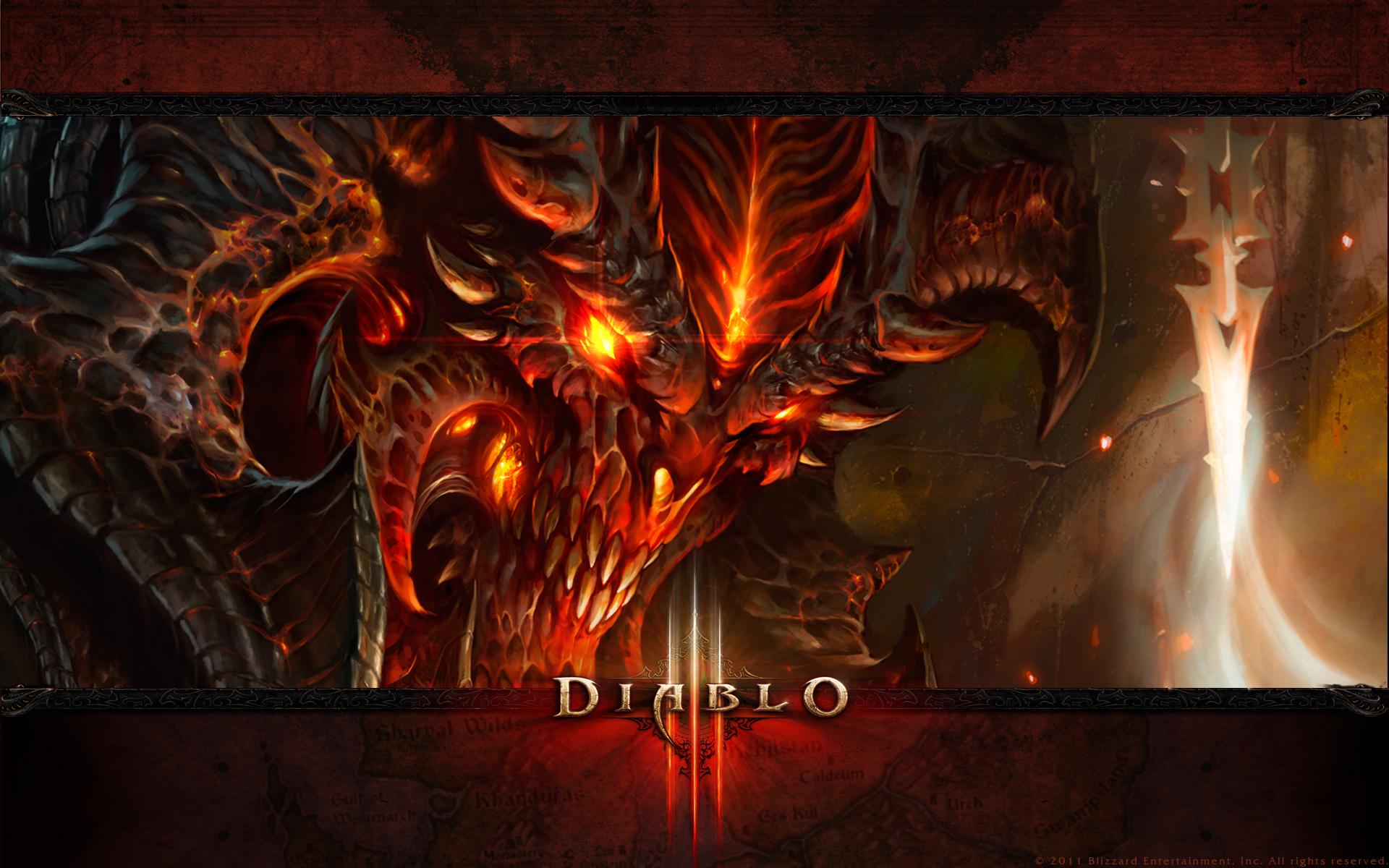 Diablo 3 Wallpaper Size 1920 1200 pixels 1920x1200