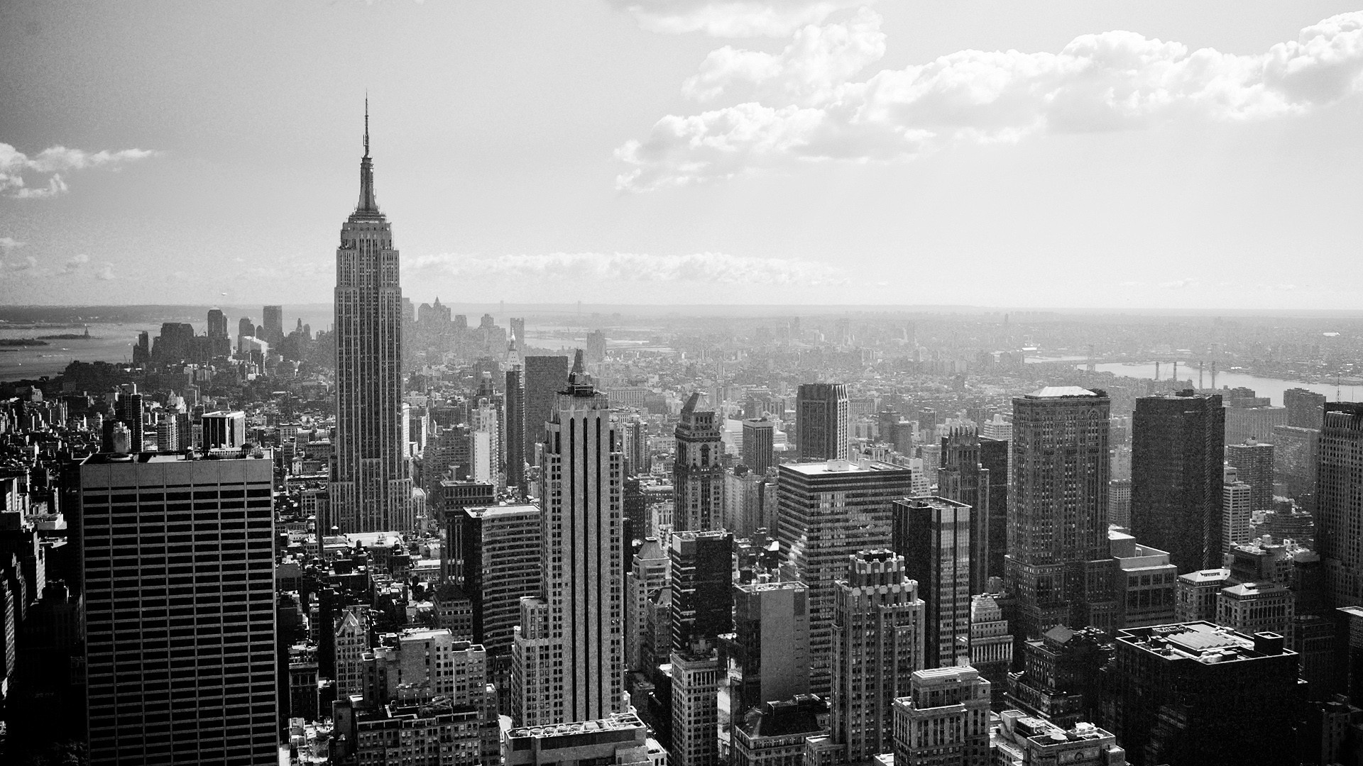 Empire State Building New York City wallpaper 3528 1920x1080
