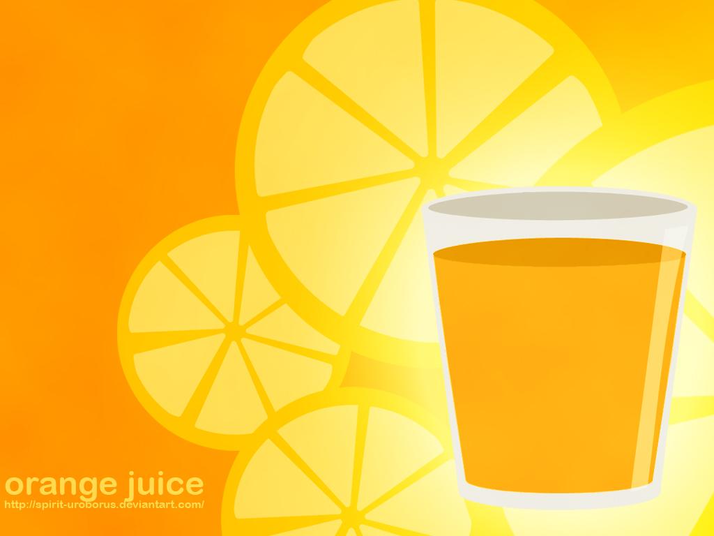Wallpaper Orange Juice 43 by Spirit Uroborus 1024x768