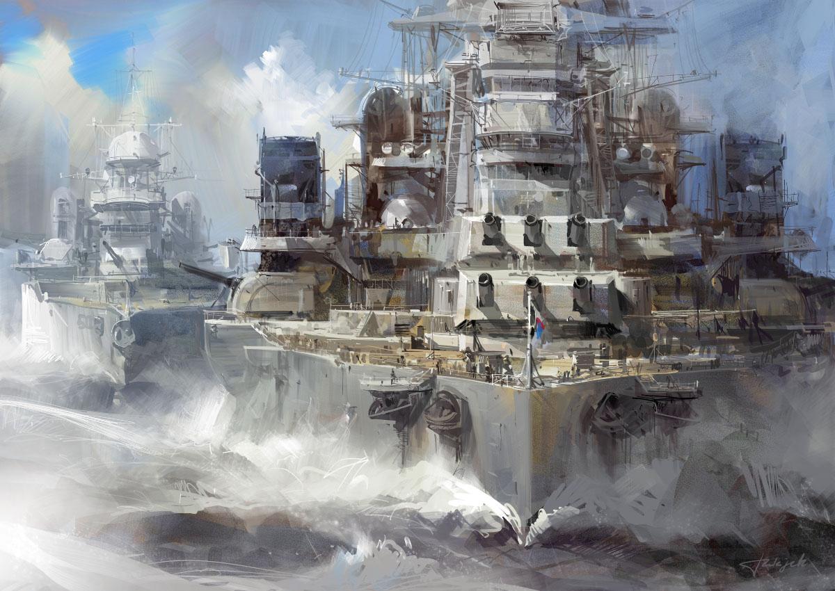 Battleship Painted Wallpaper   MyConfinedSpace 1200x850