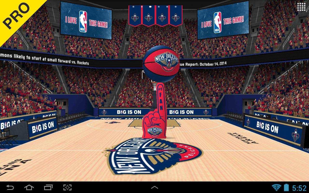 NBA 2016 Live Wallpaper Android Apps