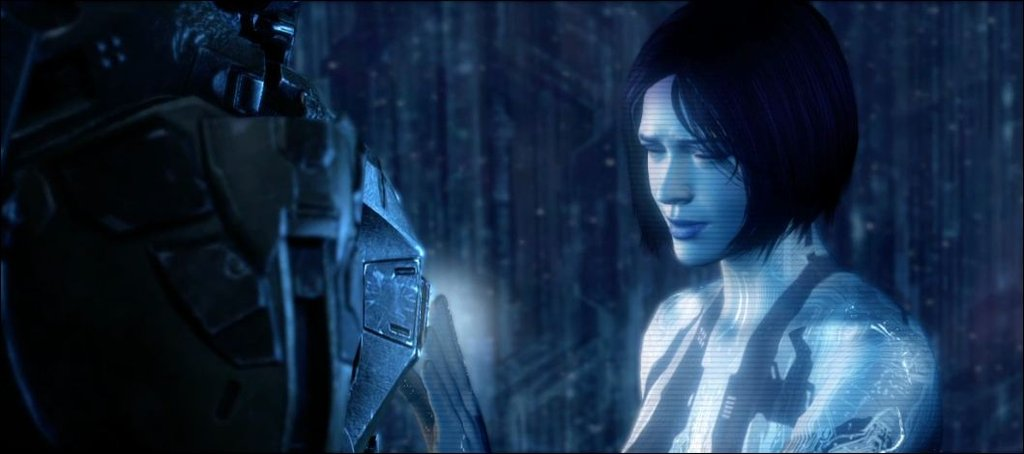 Cortana Halo 4 John and cortana halo 4 by 1024x454