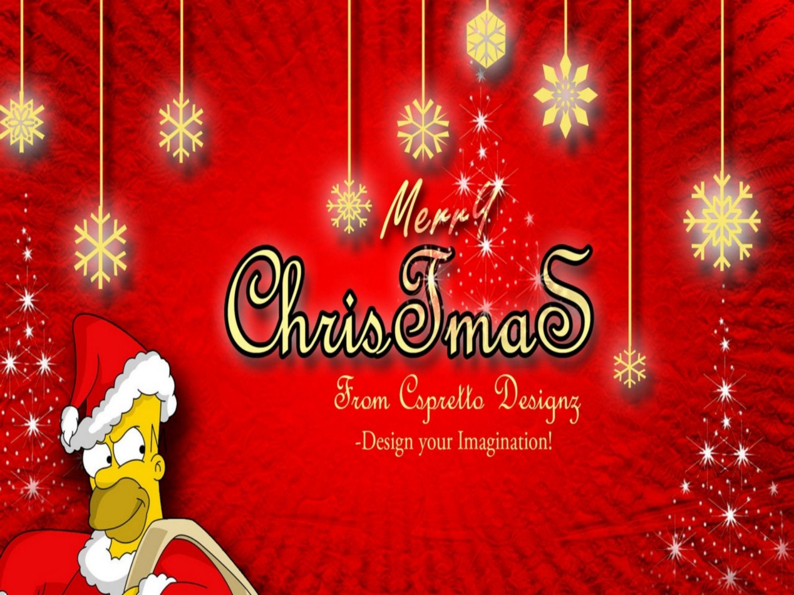 Simpsons Christmas Wallpaper   1600x1200   339321 1600x1200