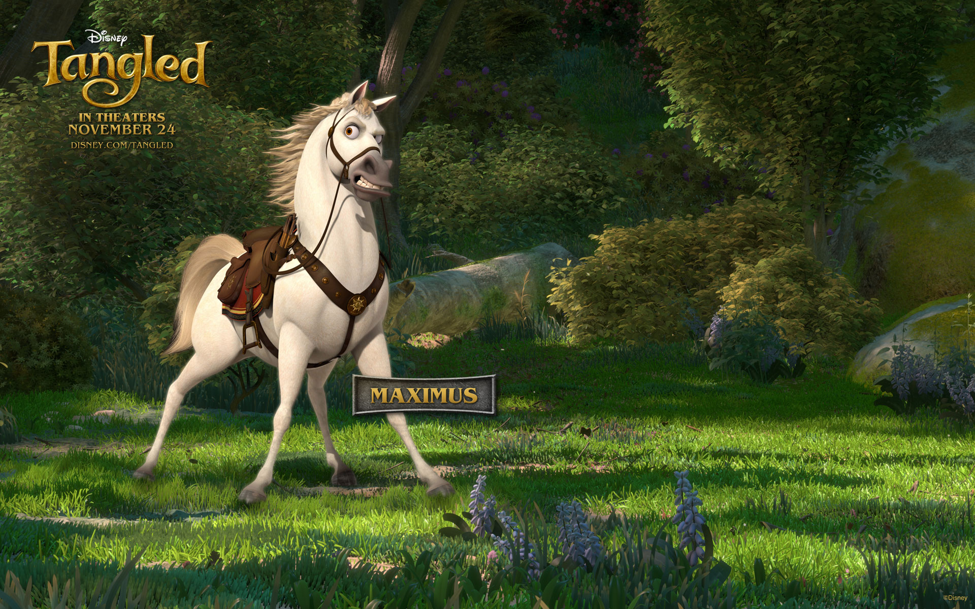 Maximus the Horse from Disneys Tangled Desktop Wallpaper 1920x1200