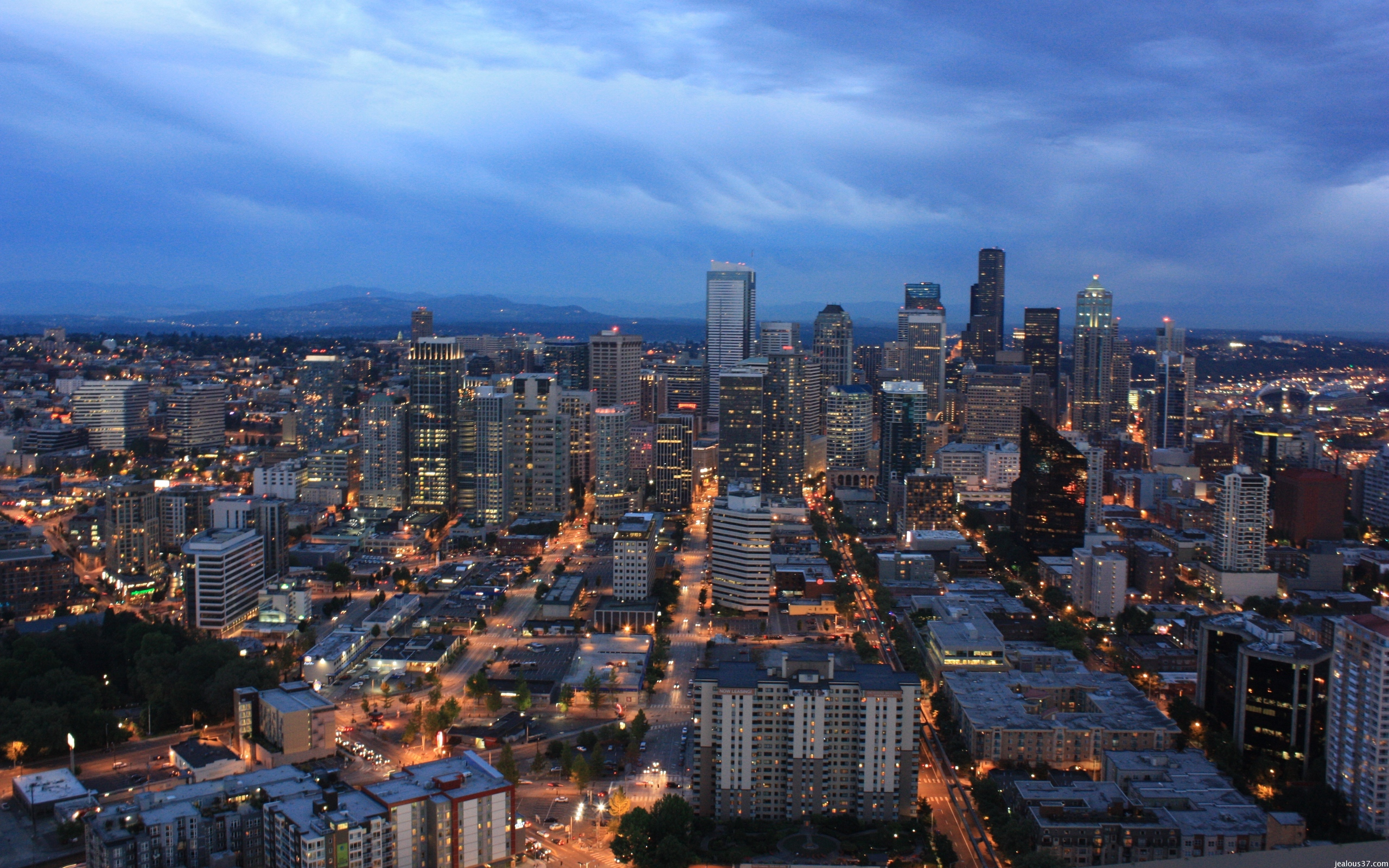 Seattle Skyline Wallpaper jealous37 2560x1600