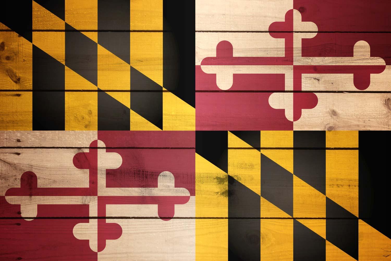 Marylands Flag The Wooden Marylander Flag 1500x1000