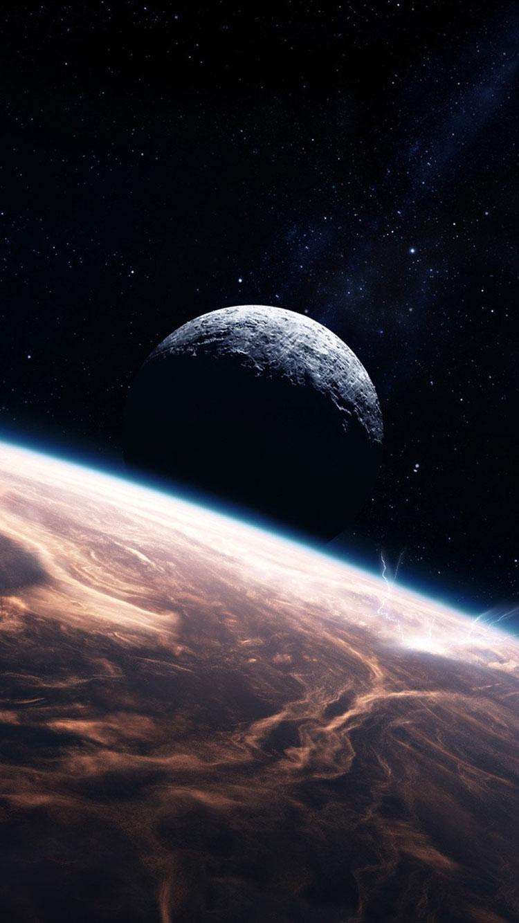 HD Space Phone Wallpaper - WallpaperSafari