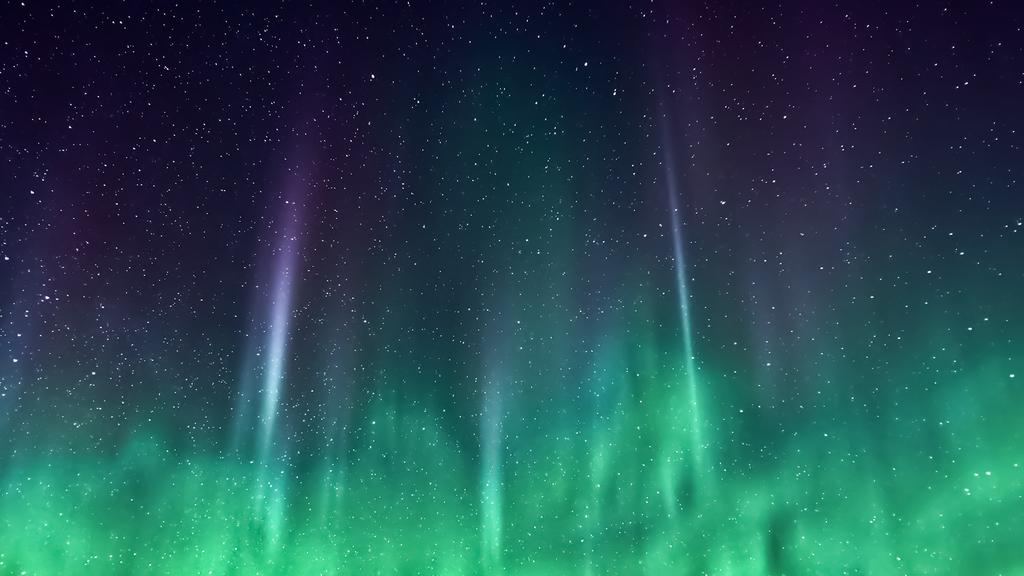 iOS 7 Green Nebula Wallpaper for Desktop by T0j 1024x576